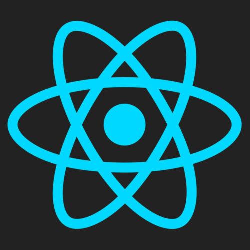 reactのロゴ